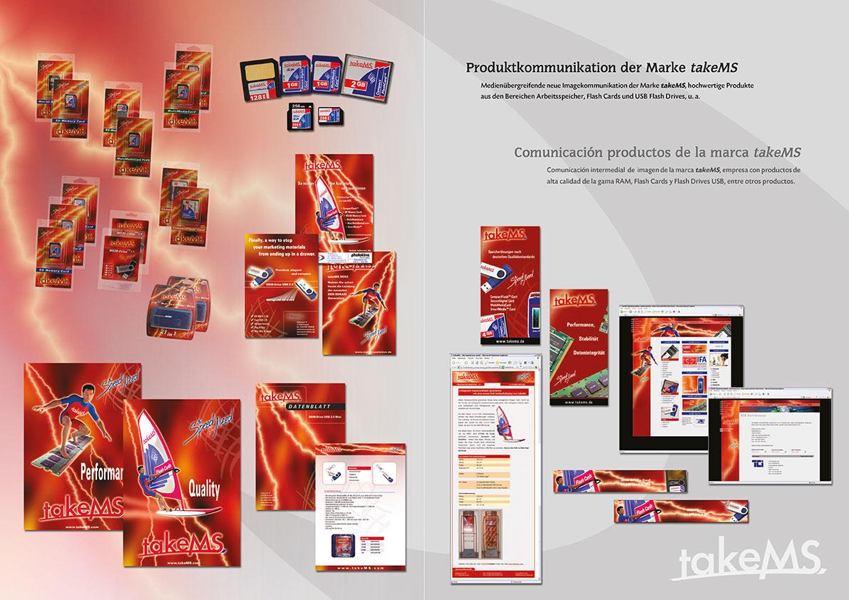 Prospekte, Verpackung-Inlays, Anzeigen, Datenblätter, Sky Scraper, Flash Cards Aufkleber, Banner, Plakate, e-Mailings, Web-Auftritt, etc.