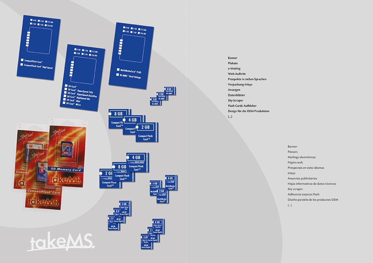 Verpackung-Inlays & Flash Cards Aufkleber.