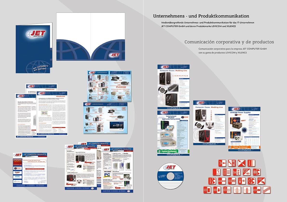 Angebotsmappe, Einladungen, Datenblätter, CD-Labels, Anzeigen, technische Produktpyktogramme, etc.